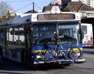 バンクーバーのバス 自転車