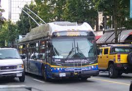 バンクーバーのバス