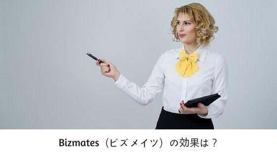 Bizmates(ビズメイツ)の効果は?